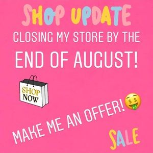 Closing end off August! Make me an offer 💕💖